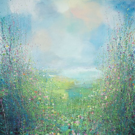 Flower Field by Sandy Dooley art print