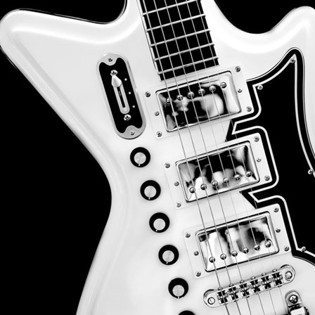 Classic Guitar Detail II by Richard James art print