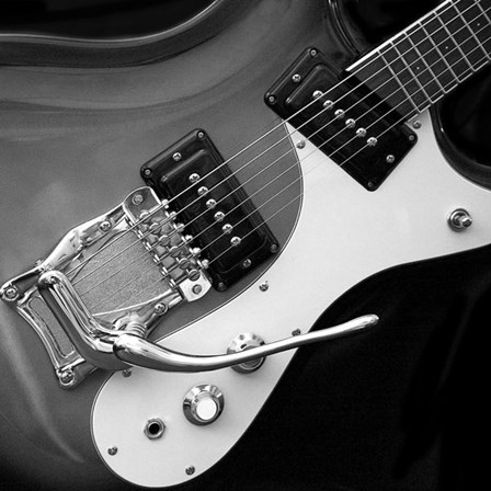 Classic Guitar Detail V by Richard James art print