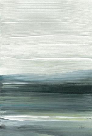 Silver Silence: Opal Sky by Joan Davis art print