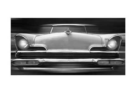 Lincoln Continental by Richard James art print
