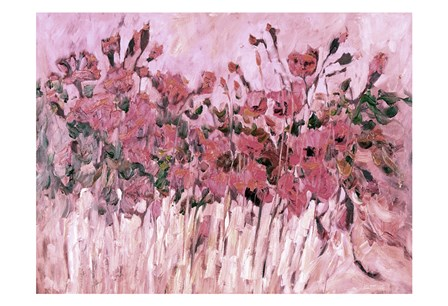 Poppies in Pink by Kruk art print