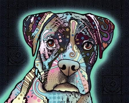 Love Thy Boxer by Dean Russo art print