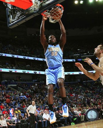 Kenneth Faried 2014-15 Action art print