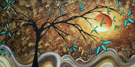 Apricot Moon by Megan Duncanson art print