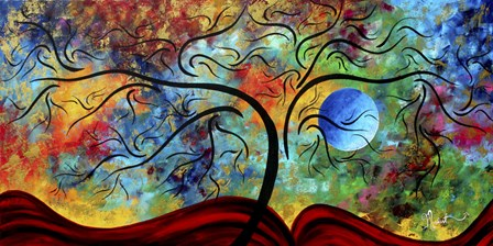 Blue Moon Rising by Megan Duncanson art print