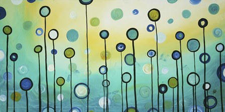 Lollipop Field by Megan Duncanson art print