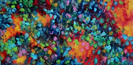 Color Blast by Megan Duncanson art print