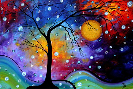 Winter Sparkle by Megan Duncanson art print