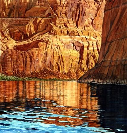 Sacred Reflections by Jane Freeman art print