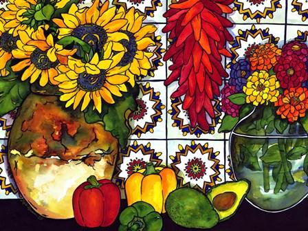Southwest Sampler by Kate Larsson art print