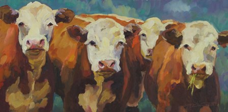 A Chorus Line by Sarah Webber art print