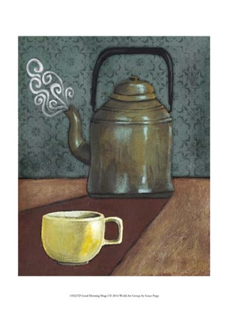 Good Morning Mugs I by Grace Popp art print