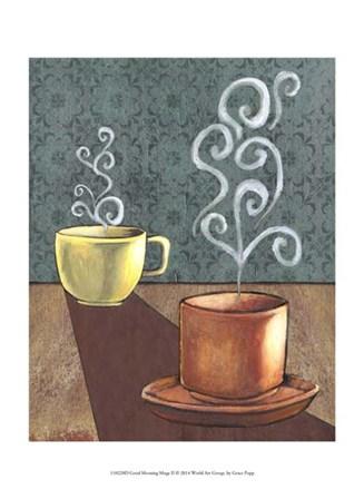Good Morning Mugs II by Grace Popp art print
