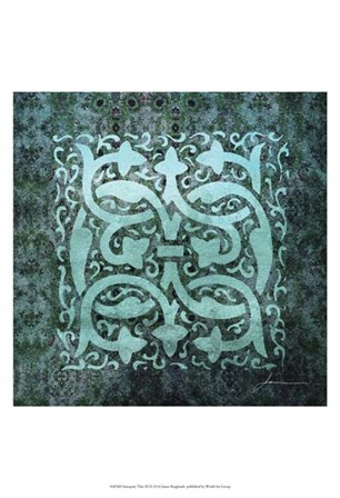 Antiquity Tiles III by James Burghardt art print
