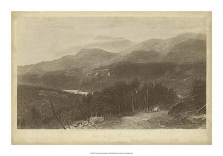The Smoky Mountains by R. Hinshelwood art print