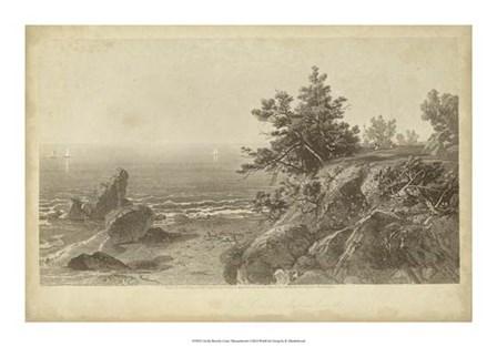 On the Beverly Coast, Massachusetts by R. Hinshelwood art print