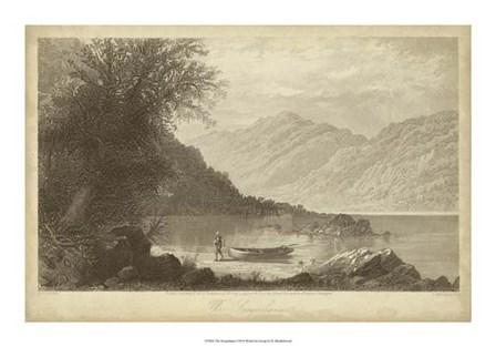 The Susquehana by R. Hinshelwood art print