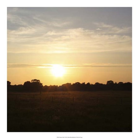 Sunset Field I by Lillian Bell art print