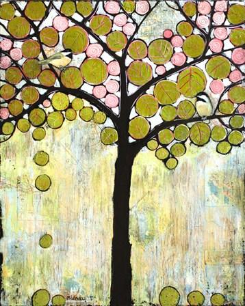 Chickadee Tree 1 by Blenda Tyvoll art print