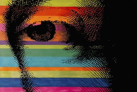 George's Eye by Howie Green art print