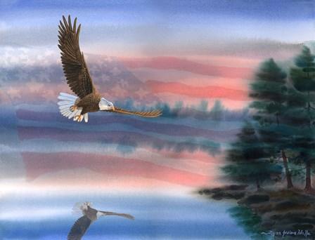 Heartland Eagle by Byron Wells art print