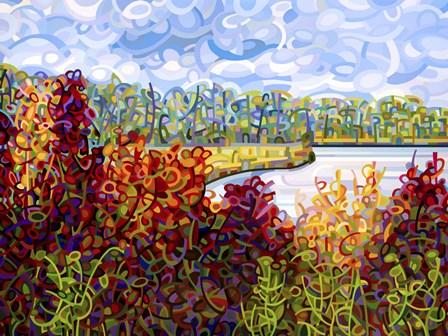 Summers End by Mandy Budan art print