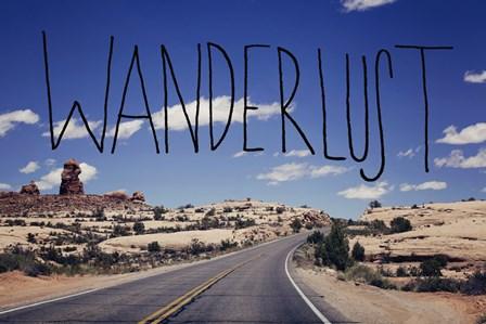 Wanderlust Road by Leah Flores art print