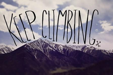 Keep Climbing by Leah Flores art print