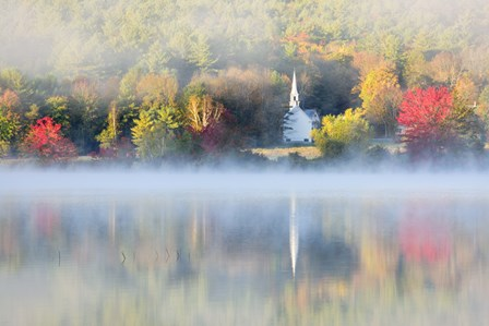 Little Church of the Fog by Michael Blanchette Photography art print