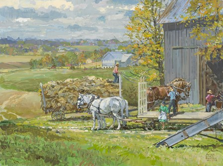 Another Load by Peter Snyder art print