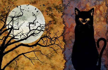 All Hallow's Eve 1 by Art Licensing Studio art print