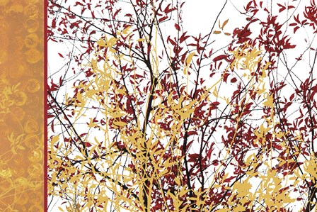 Painted Branches by Erin Clark art print