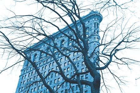Blue Flatiron by Erin Clark art print