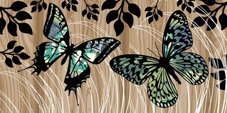 Butterfly Patchwork by Erin Clark art print