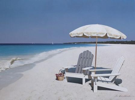 Seaside Picnic by Zhen-Huan Lu art print