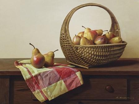Still Life With Pears by Zhen-Huan Lu art print