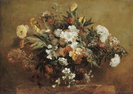 Bouquet by Eugene Delacroix art print