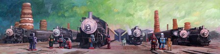 Trainyard by Eric Joyner art print