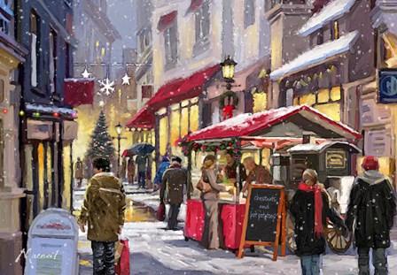 Chestnut Seller by The Macneil Studio art print