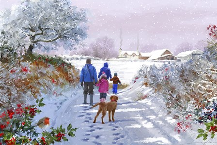 Going For A Walk by The Macneil Studio art print