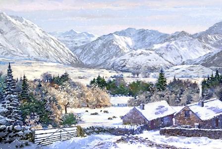 Landscape In Snow by The Macneil Studio art print