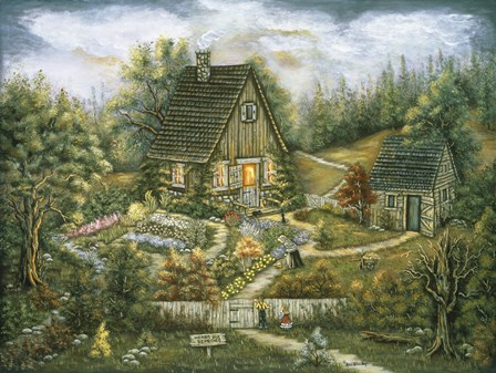 At The Edge Of The Woods by Ann Stookey art print