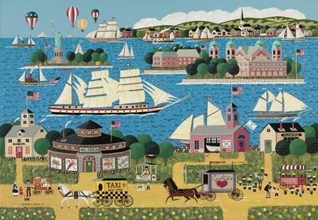 Harbor of Hope B by Anthony Kleem art print