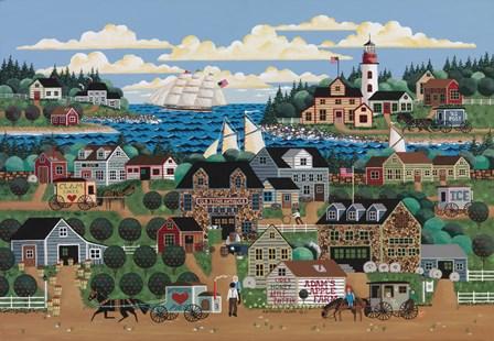 Adam's Apple Farm by Anthony Kleem art print