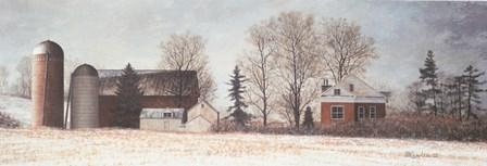 Winter's Morning by David Knowlton art print