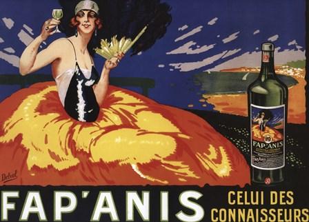 Fap Anis Wine French by Lantern Press art print