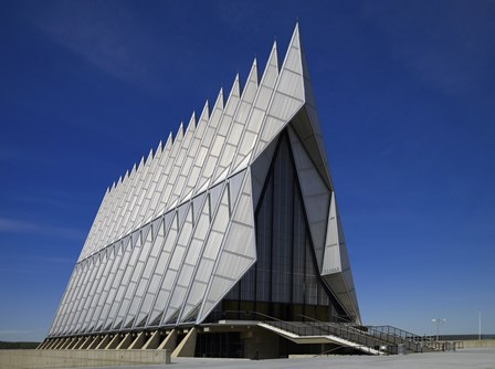 Air Force Academy Chapel Coloradon Springs by Print Collection art print