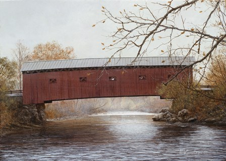 New England Remembered by David Knowlton art print