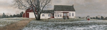 November Snow by David Knowlton art print